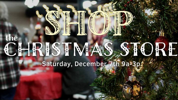 SHOP the Christmas Store 2019 logo image