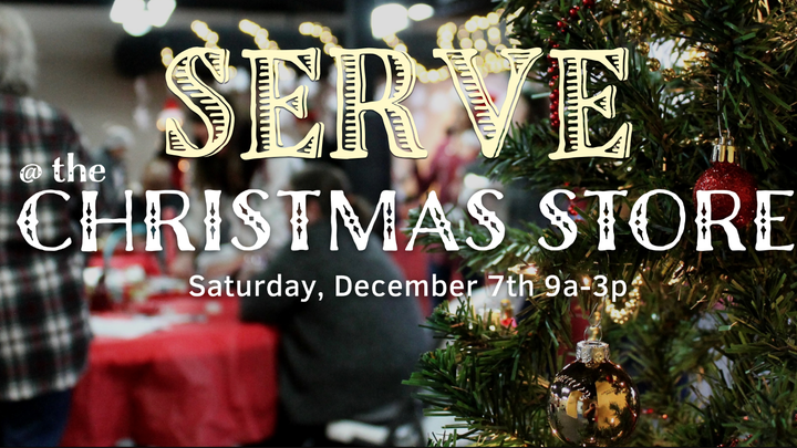 SERVE @ the Christmas Store logo image