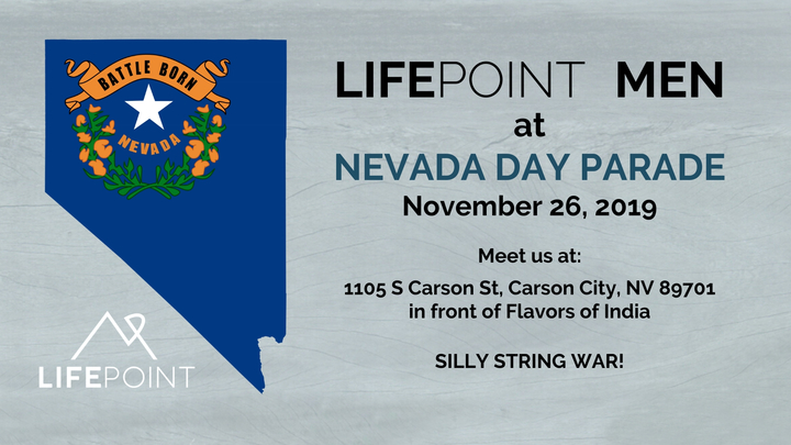 LifePoint Men at Nevada Day Parade logo image