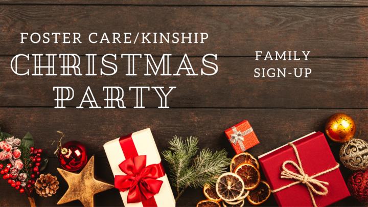 Foster Care/Kinship Christmas Party logo image