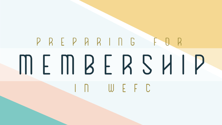 LTP: Preparing for Membership in WEFC (English) logo image
