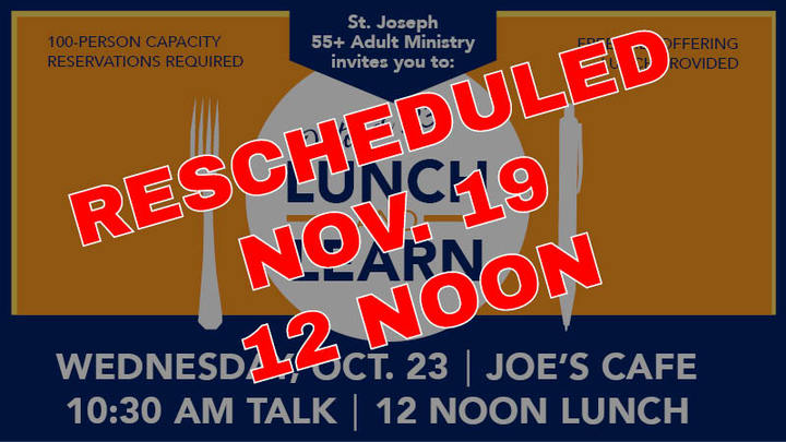 November Lunch and Learn logo image