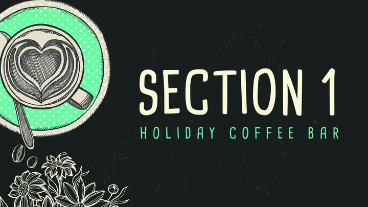 Holiday Coffee Bar (Section 1) logo image