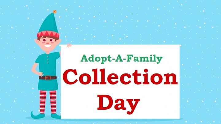 Adopt-A-Family Collection Day logo image