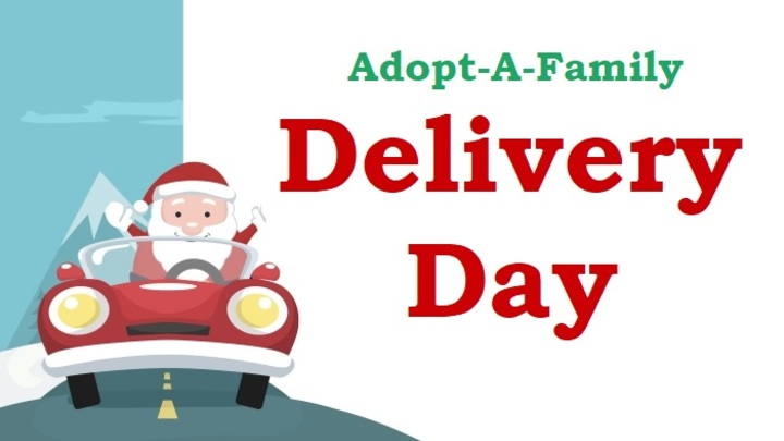 Adopt-A-Family Delivery Day Volunteers logo image