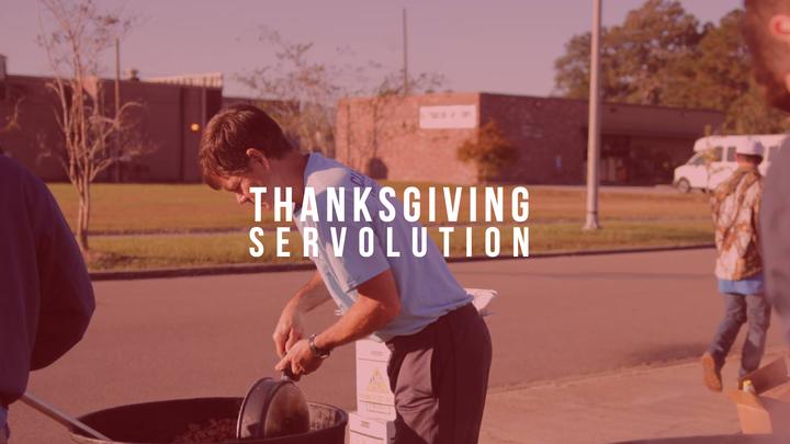 Thanksgiving Servolution logo image