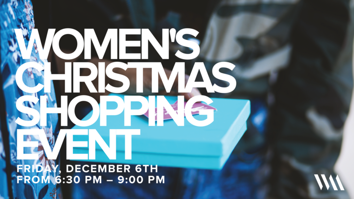 SC | Women's Christmas Shopping Event logo image