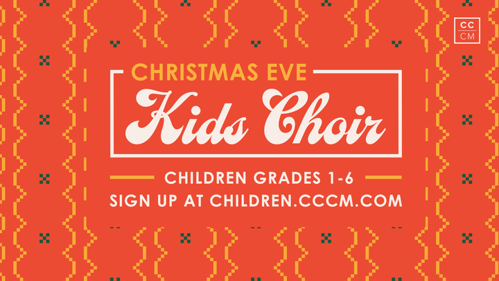 Christmas Eve Children's Choir logo image