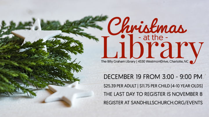 JOY: Christmas at the Library logo image