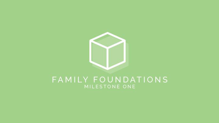 Milestone One | Family Foundations | Tomball logo image