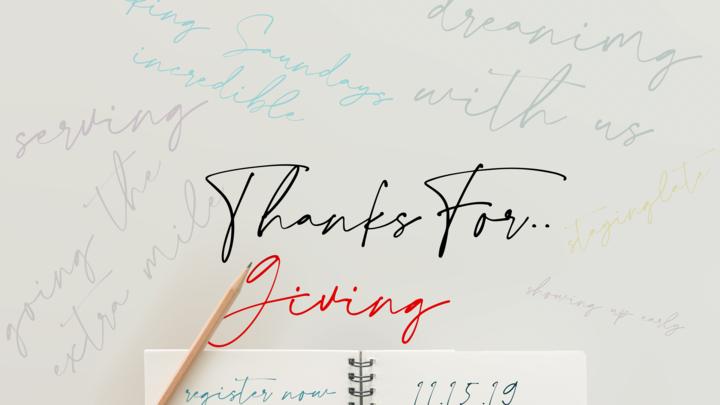 Thanks For Giving 2019 logo image