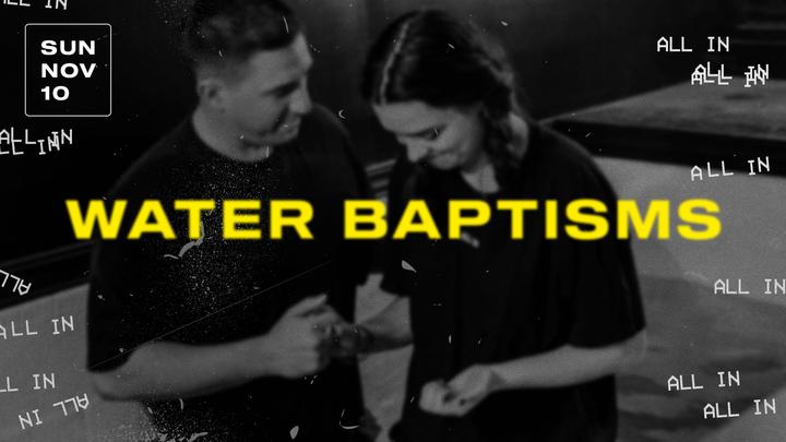 Water Baptisms | November 10th, 2019 logo image