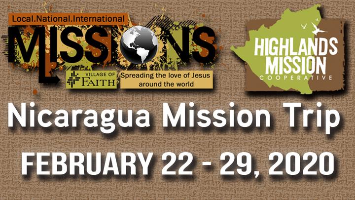 Nicaragua Mission Trip logo image