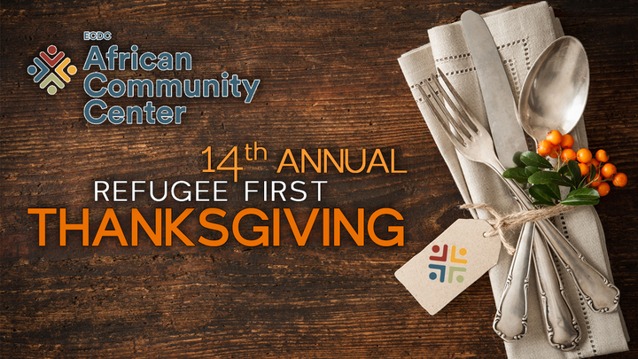 Volunteer Opportunity – 14th Annual Refugee First Thanksgiving logo image