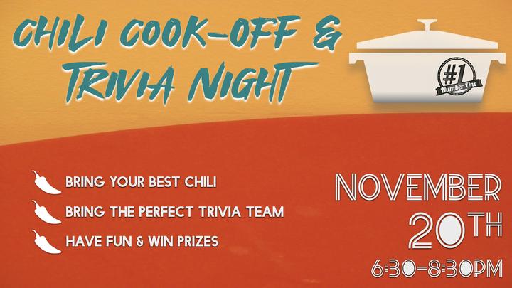 Chili Cook-off & Trivia Night logo image
