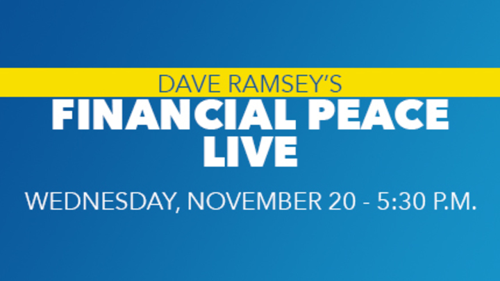 Financial Peace - LIVE! logo image