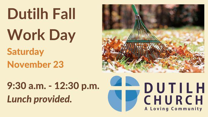 Fall Work Day logo image