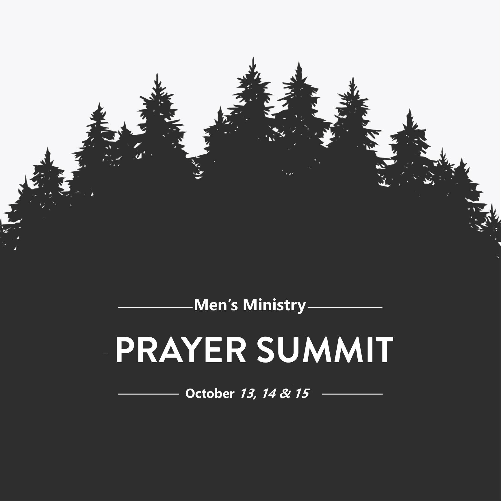Mens fall prayer summit