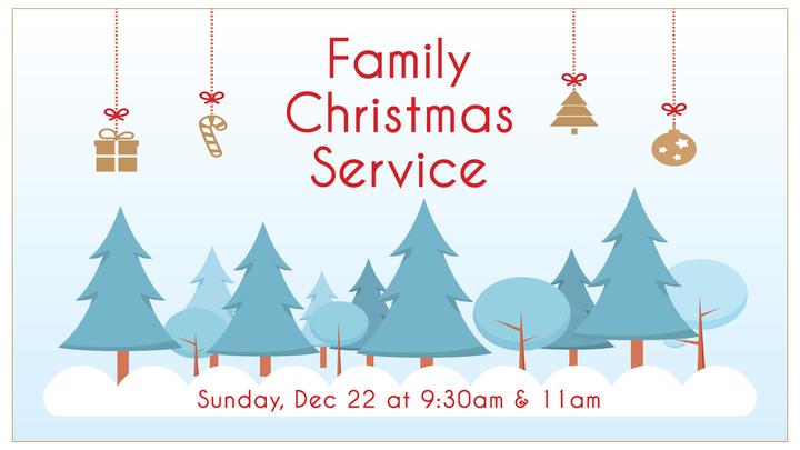 Family Christmas Service logo image