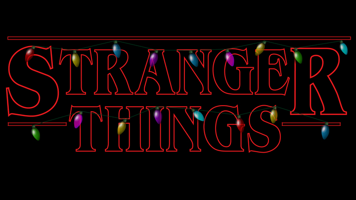 December Sunday Series - Stranger Things logo image
