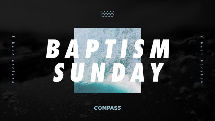 Baptism Sunday logo image