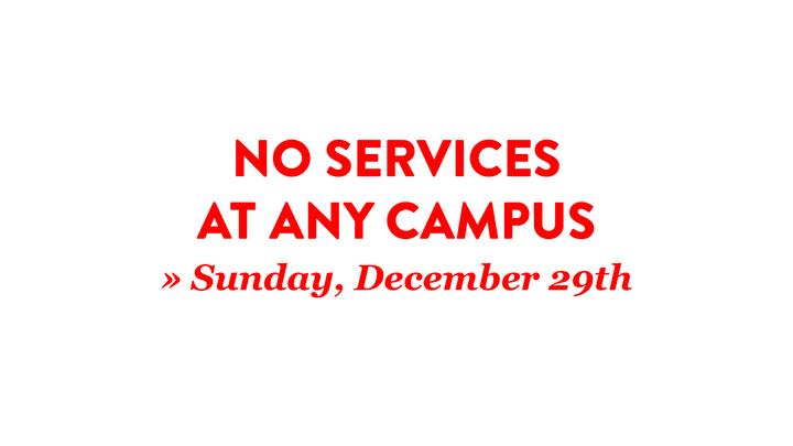 No Services » December 29 logo image