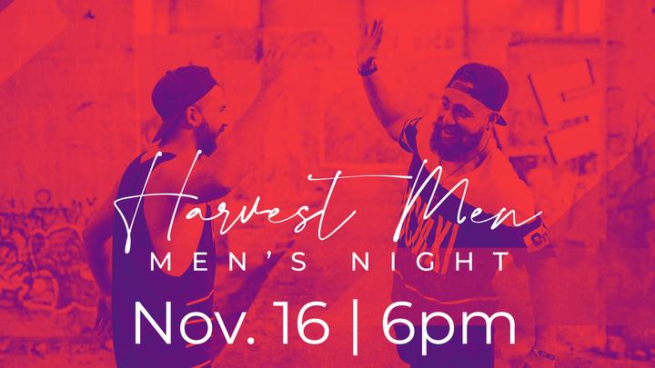 Harvest Men - Men's Night logo image