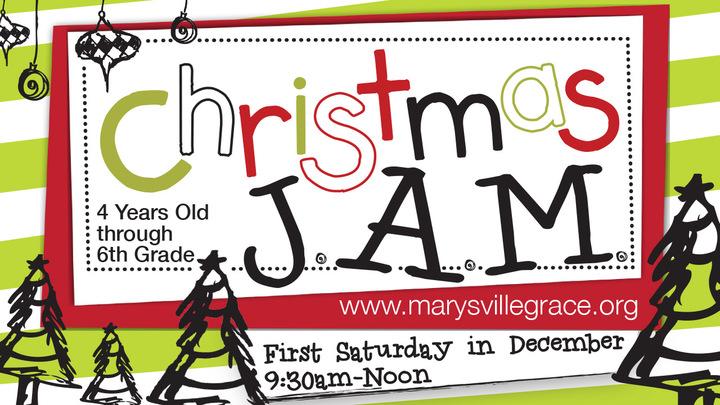 Christmas J.A.M. logo image