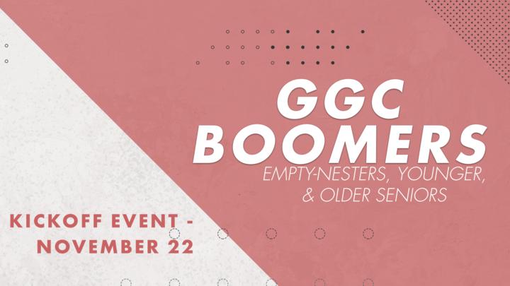 GGC Boomers Kickoff Event logo image