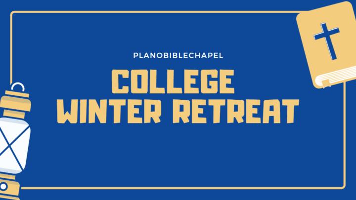College Winter Retreat logo image
