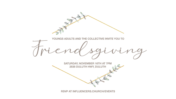 YA + The Collective Friendsgiving Dinner logo image