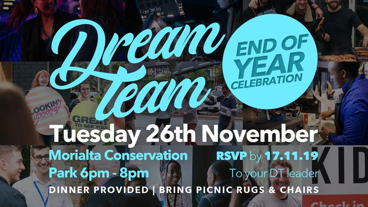Dream Team Celebration logo image