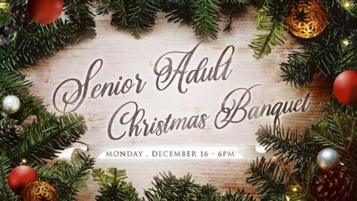 Senior Adult Christmas Banquet logo image