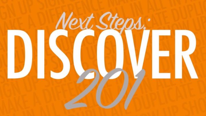 December Discover 201 logo image
