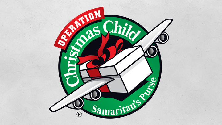 Operation Christmas Child Shoeboxes logo image