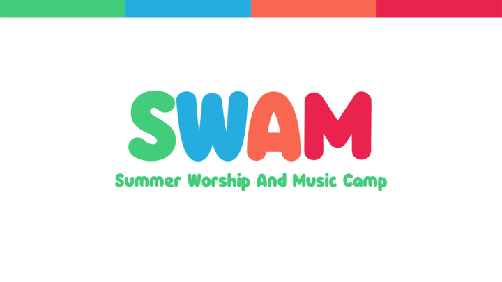 Summer Worship and Music Camp (SWAM) logo image