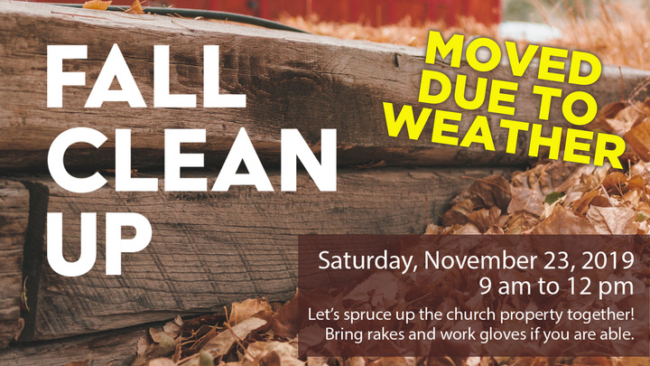 Fall Clean Up logo image