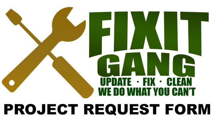 Fix-It Gang Project Request Form logo image