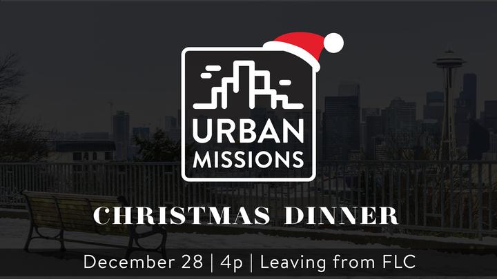 Urban Missions - Christmas Dinner logo image