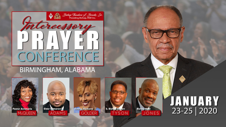 PAW Inc. Intercessory Prayer Conference Resources logo image