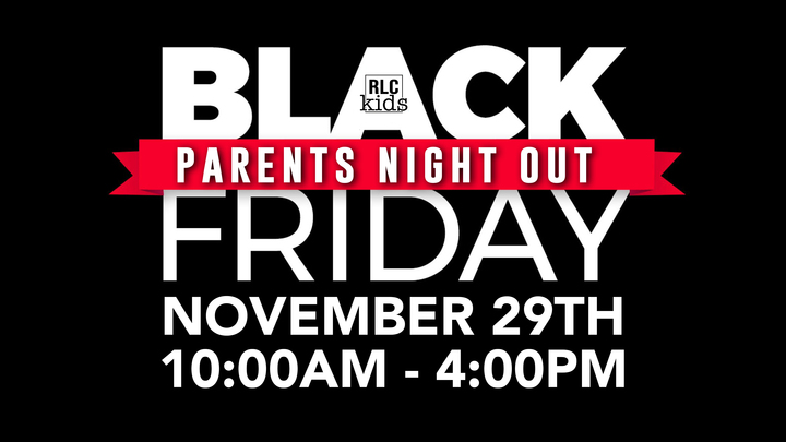 Parent's Night Out: Black Friday logo image