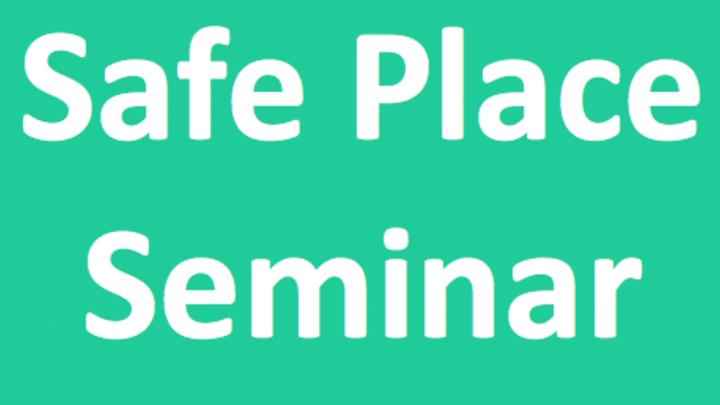 Safe Place Seminar RSVP logo image