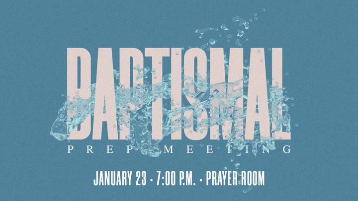 Baptismal Preparation Meeting logo image