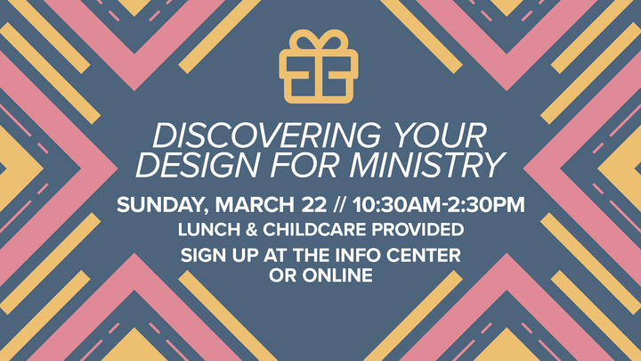 Latham Discovering Your Design for Ministry Class logo image