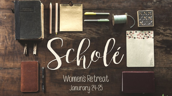 Scholé Women's Retreat logo image