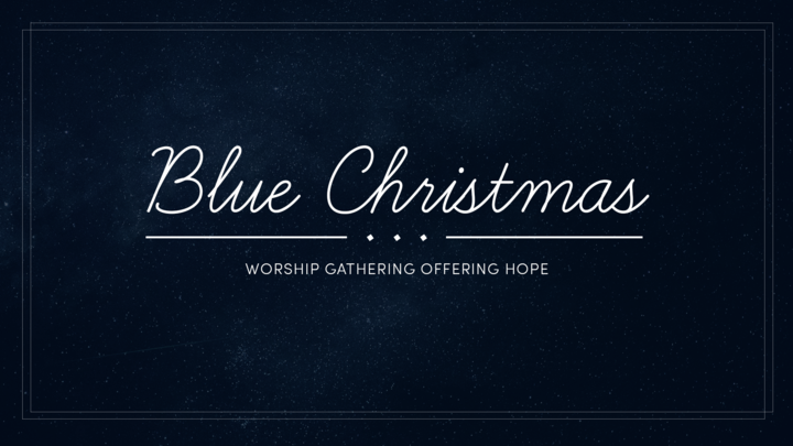 Blue Christmas Gathering logo image