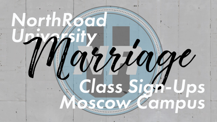 "NorthRoad University Marriage Class - ""No More Perfect Marriages"" - Moscow Mills (10:00am) logo image"