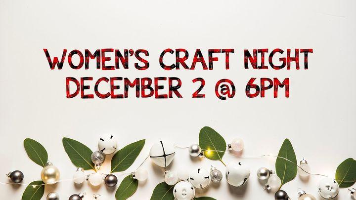 Women's Craft Night logo image