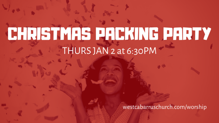 Christmas Packing Party logo image