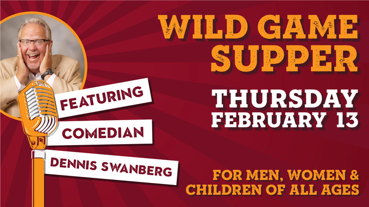 Wild Game Supper logo image